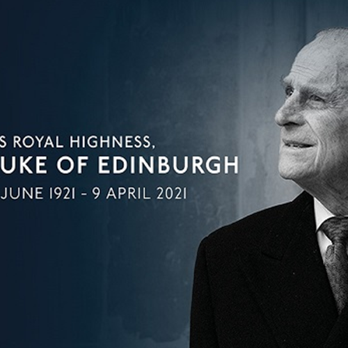 HRH Duke of Edinburgh 10 June 1921-9 April 2021