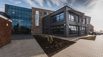 Image of Cefas' new laboratory in Lowestoft