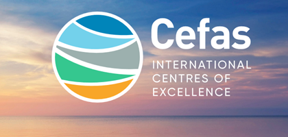 Cefas International Centres of Excellence logo